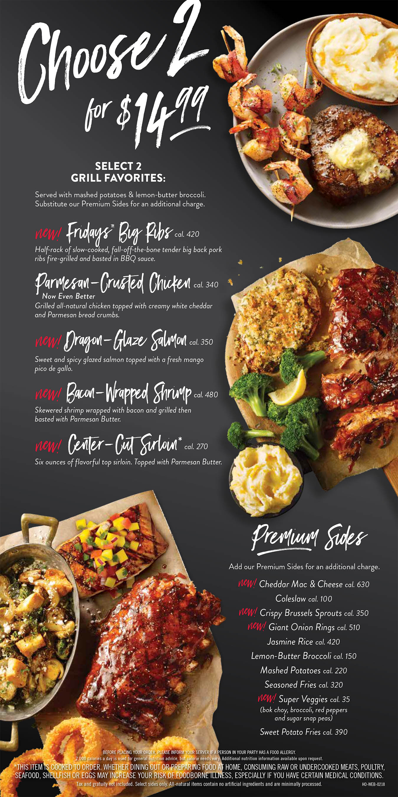 TGI Friday's Menu