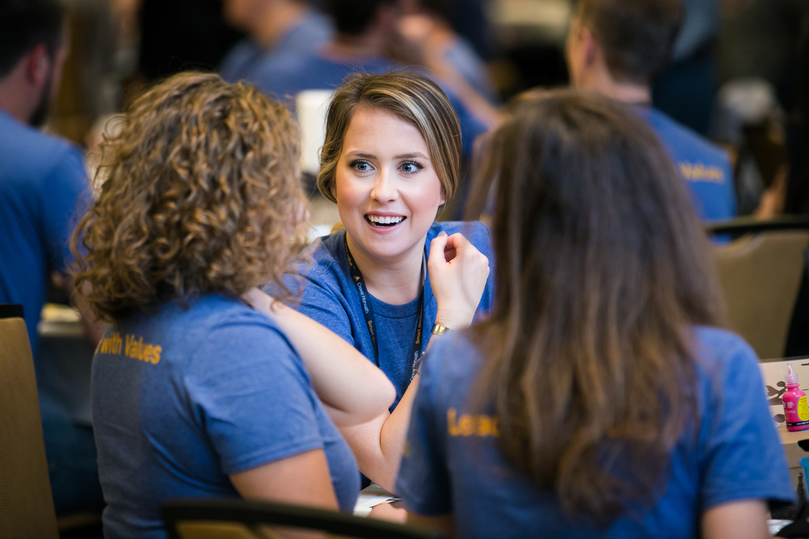Crowe personnel network and connect with colleagues from across the country at Promotions Academy in Atlanta.