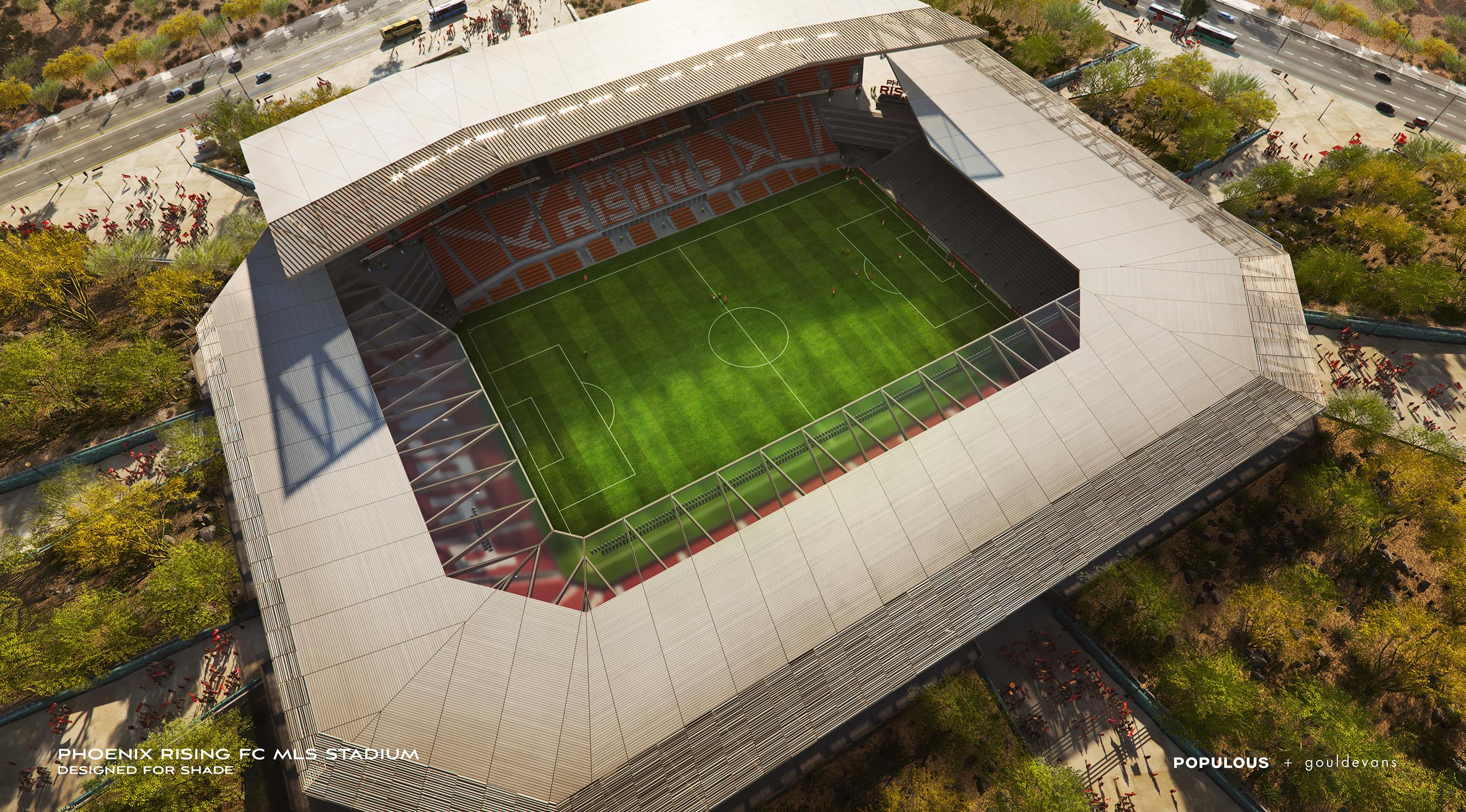 Phoenix Rising Football Club Offers Sneak Peak of Proposed