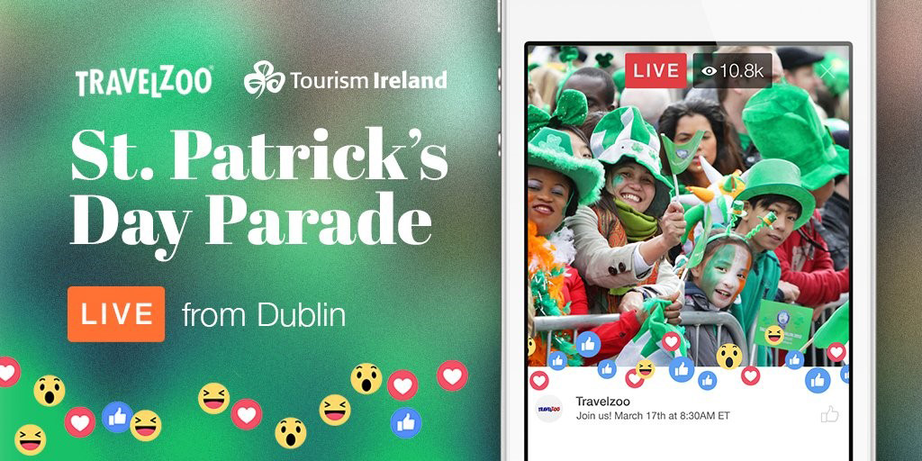 LIVE from Dublin: St. Patrick's Day Parade