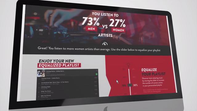 Spotify Smirnoff Equalizer