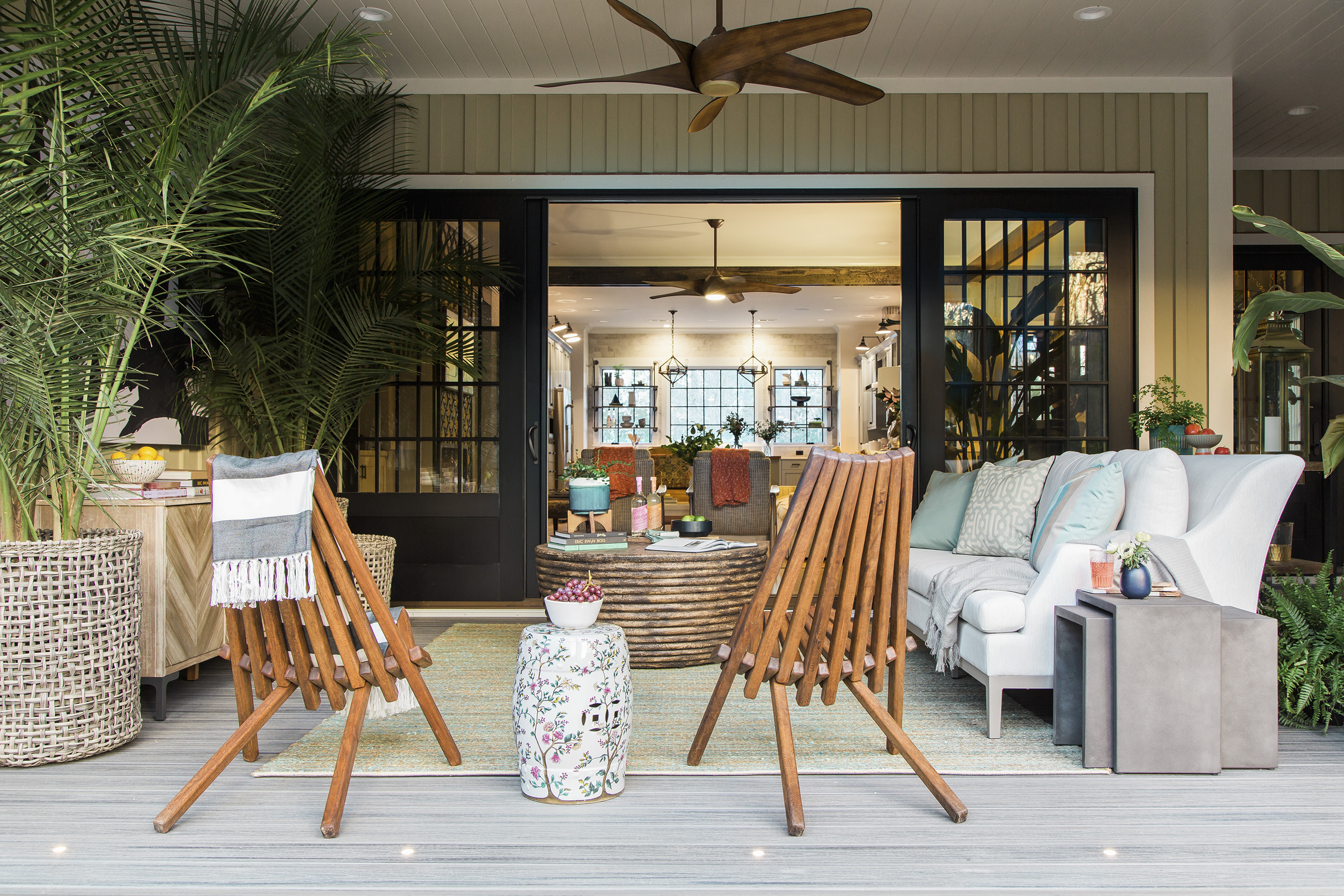 HGTV Smart Home 2018 Screened Porch