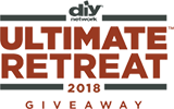DIY Network Ultimate Retreat logo