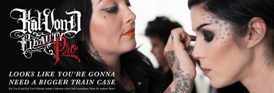 Kat Von D Beauty Launches Pro Makeup