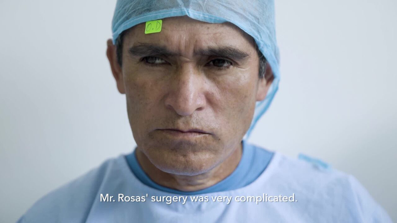 When José Rosas arrived at the medical clinic in Tarapoto, SEE International's volunteer ophthalmologists discovered that he had complicated cataracts in both of his eyes. The chances of restoring even partial vision was quite slim. But José knew he had nothing to lose, so he decided to go ahead with the operation, in spite of the odds.