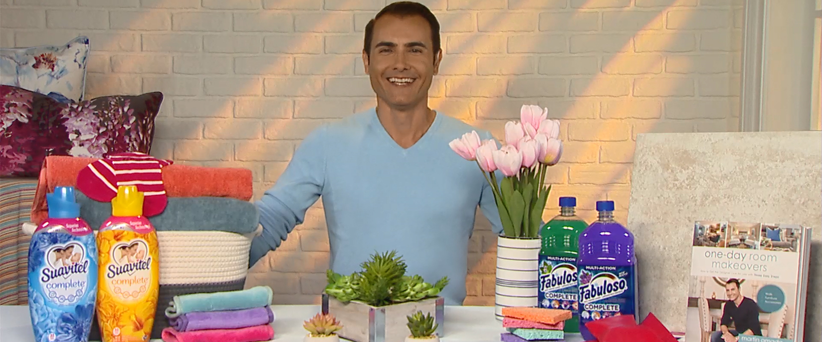 Martin Amado highlights different products and ideas to give your home a refresh this spring