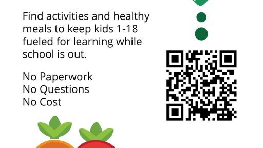 CA Meals for Kids app to eat healthy while school is out.