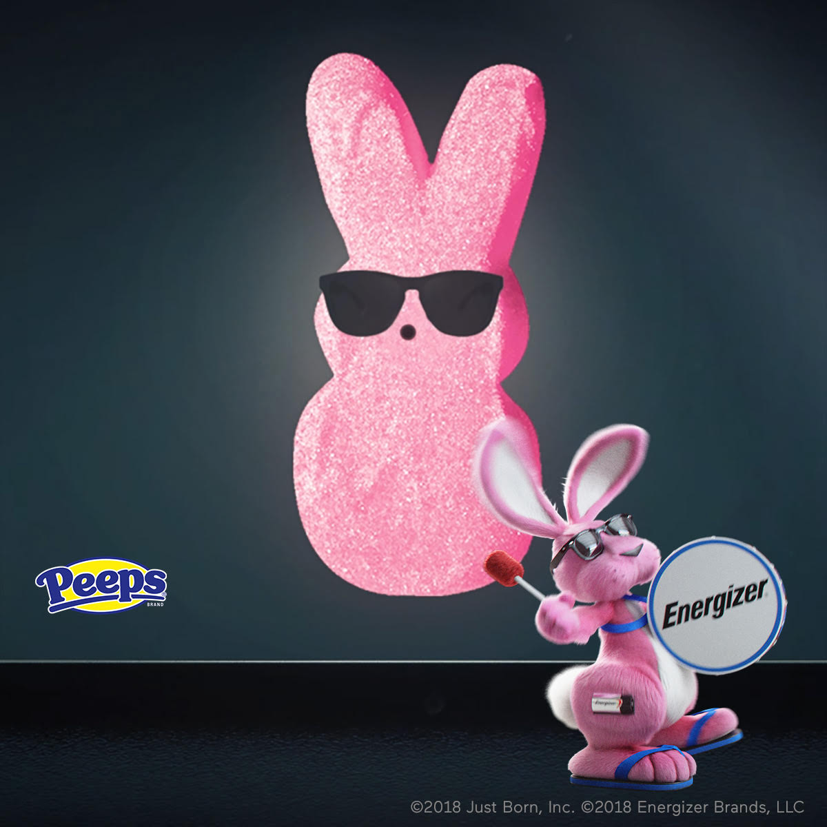 This new creative brand vision has made the pink PEEPS® bunnies kind of look like… the Energizer Bunny™.