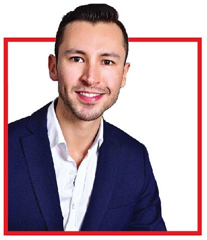 Santiago Martinez, LatAm Training Manager in Mexico City (January 2020)