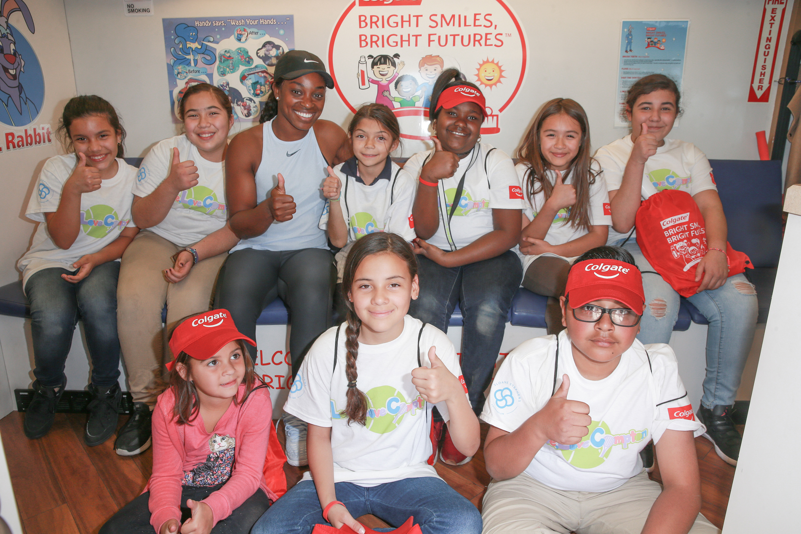 Colgate Bright Smiles, Bright Futures® and Sloane Stephens are #ServingUpSmiles for America's Kids