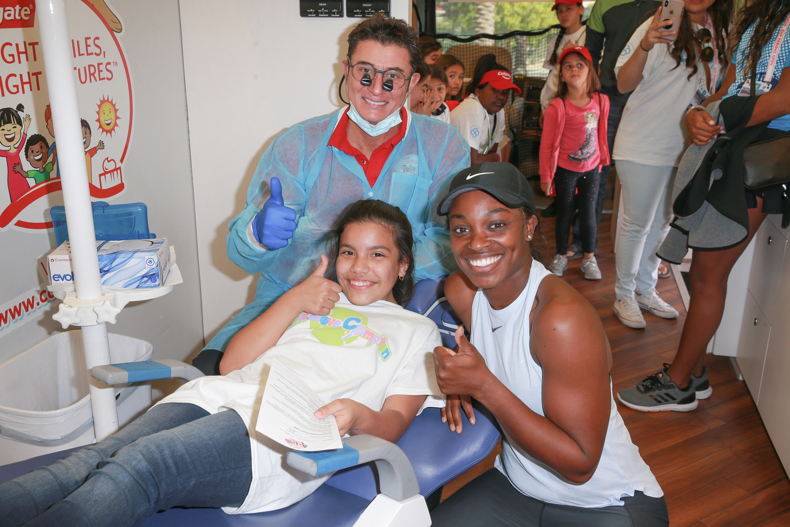 Colgate Bright Smiles, Bright Futures® and Sloane Stephens encourage healthy habits