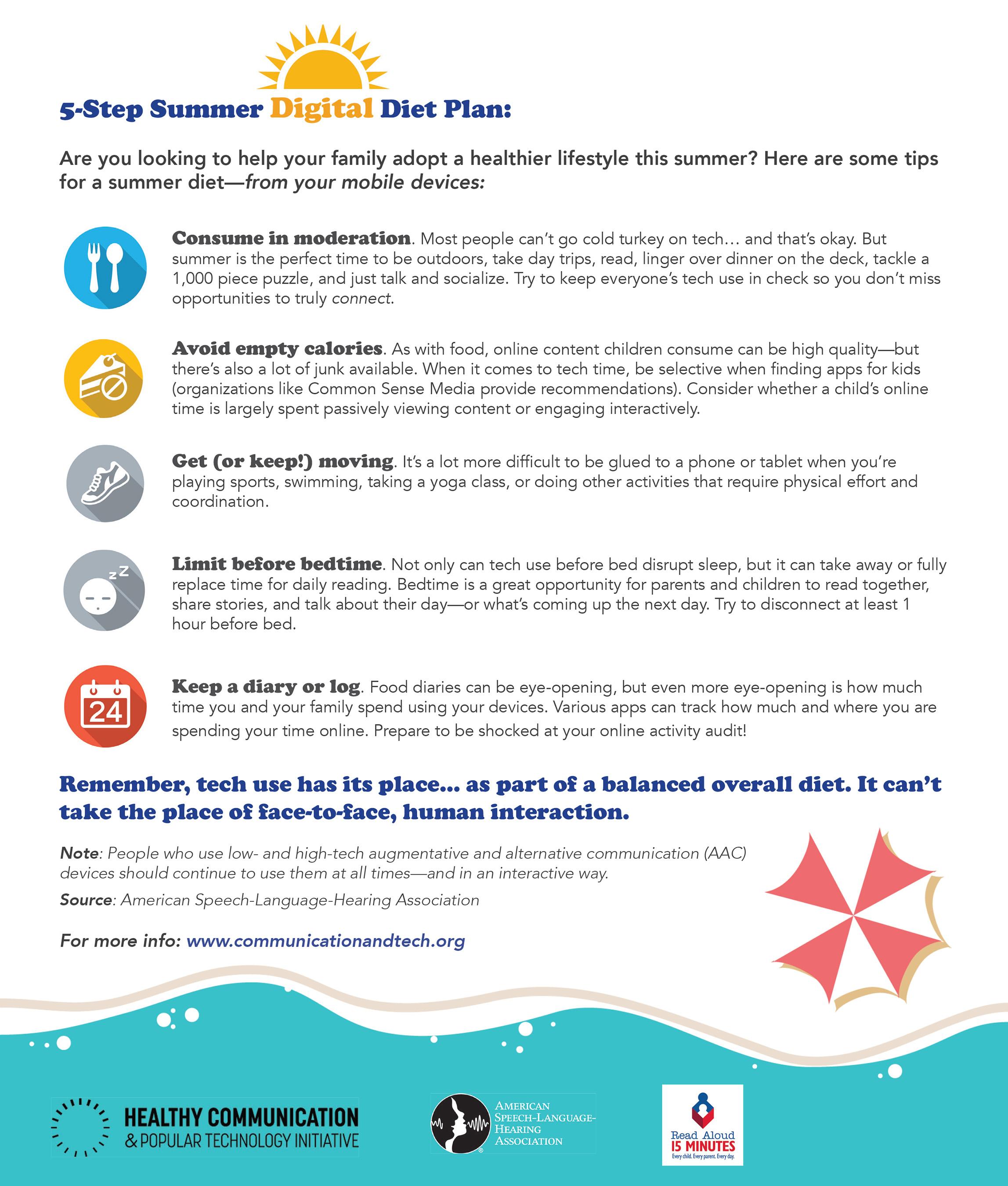 5-Step Summer Digital Diet