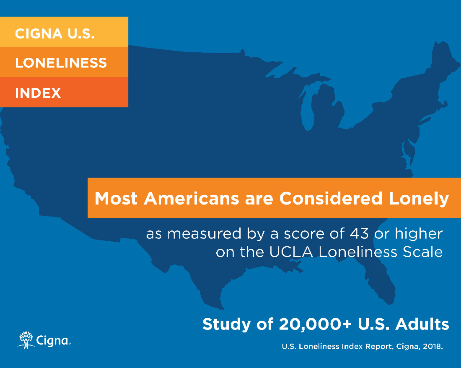New Cigna Study Reveals Loneliness At Epidemic Levels In America