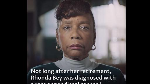 Watch this video from T Brand Studio about how Rhonda Bey fought her battle with a rare cancer using breakthrough technology.
