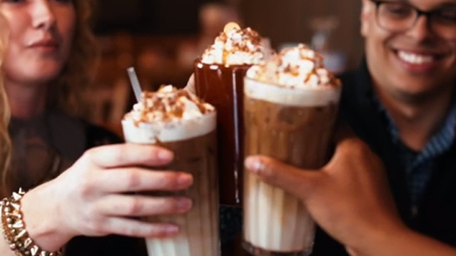 Cracker Barrel announces the arrival of the Goo Goo Cluster Latte, a new premium coffee beverage inspired by the Goo Goo Cluster, a beloved, iconic candy of the South.