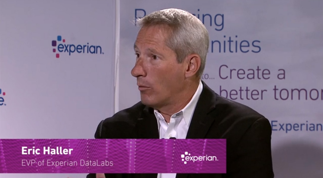 Eric Haller, EVP of Experian Data Labs