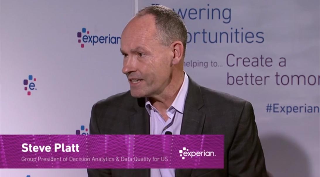 Steve Platt, President of Decision Analytics and Data Quality, North America