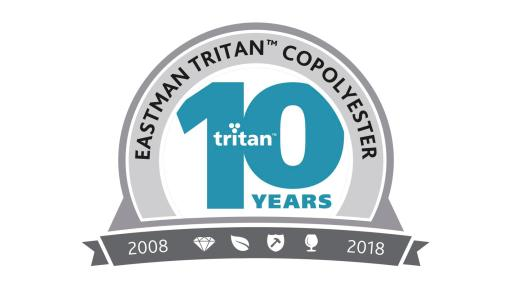 Ten Years of Tritan logo