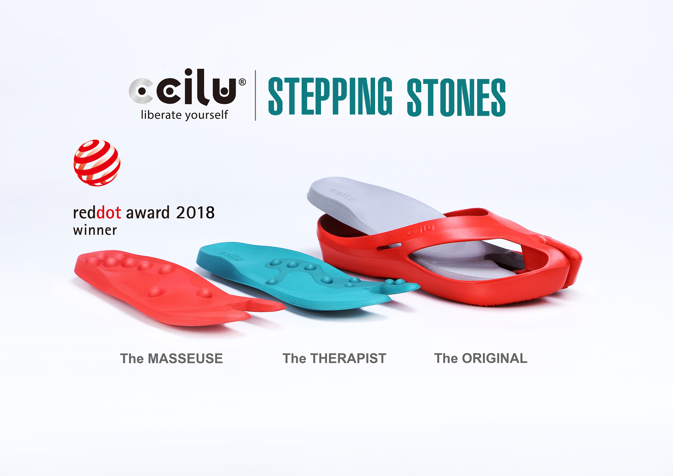 Ccilu S Stepping Stone Sandal Wins Red Dot Design Award In Time For Summer