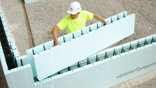 Nudura is building strong disaster resilient eco for Nudura icf cost