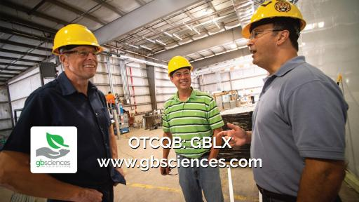 The 36,000square-foot GB Sciences facility is nearly complete.