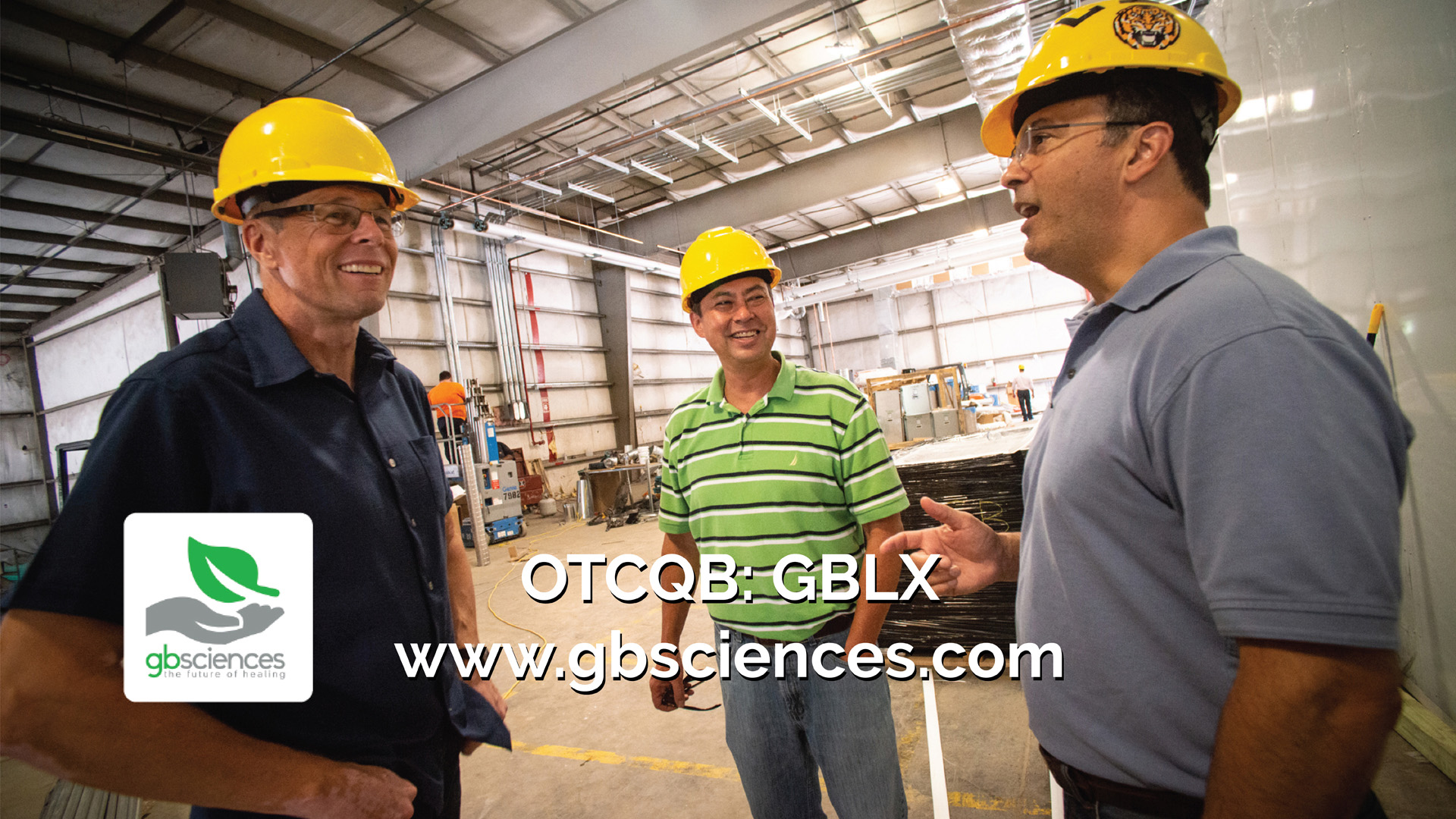 The 36,000 square-foot GB Sciences facility is nearly complete.