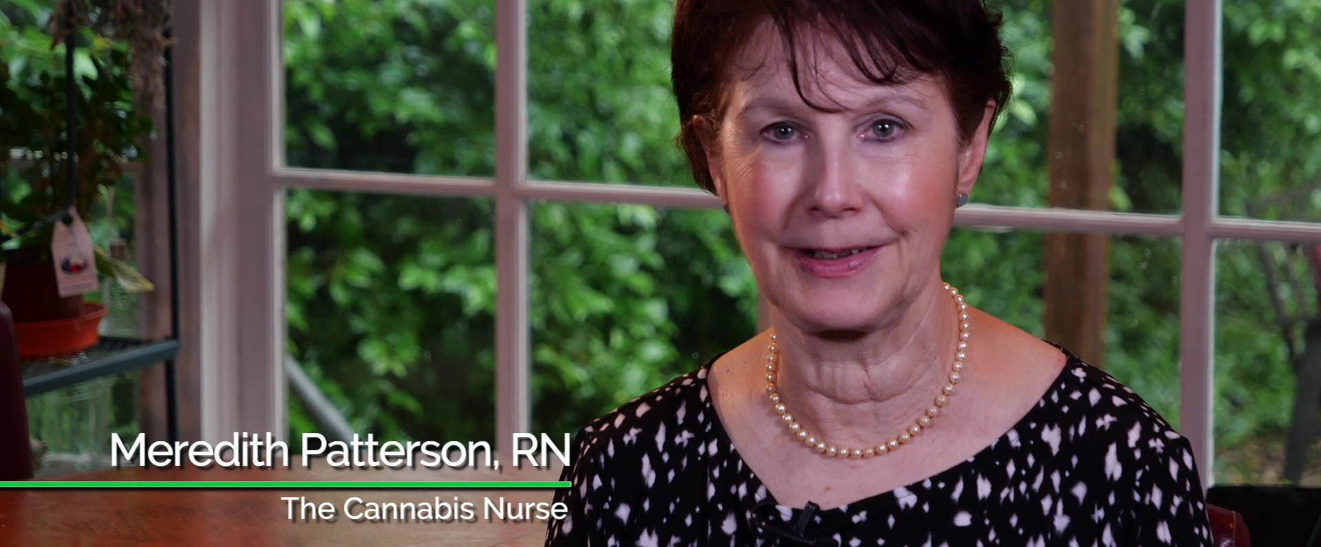 Meet the Cannabis Brain Nurse, Meredith Patterson, and join her journey to learn about the benefits of medical cannabis!