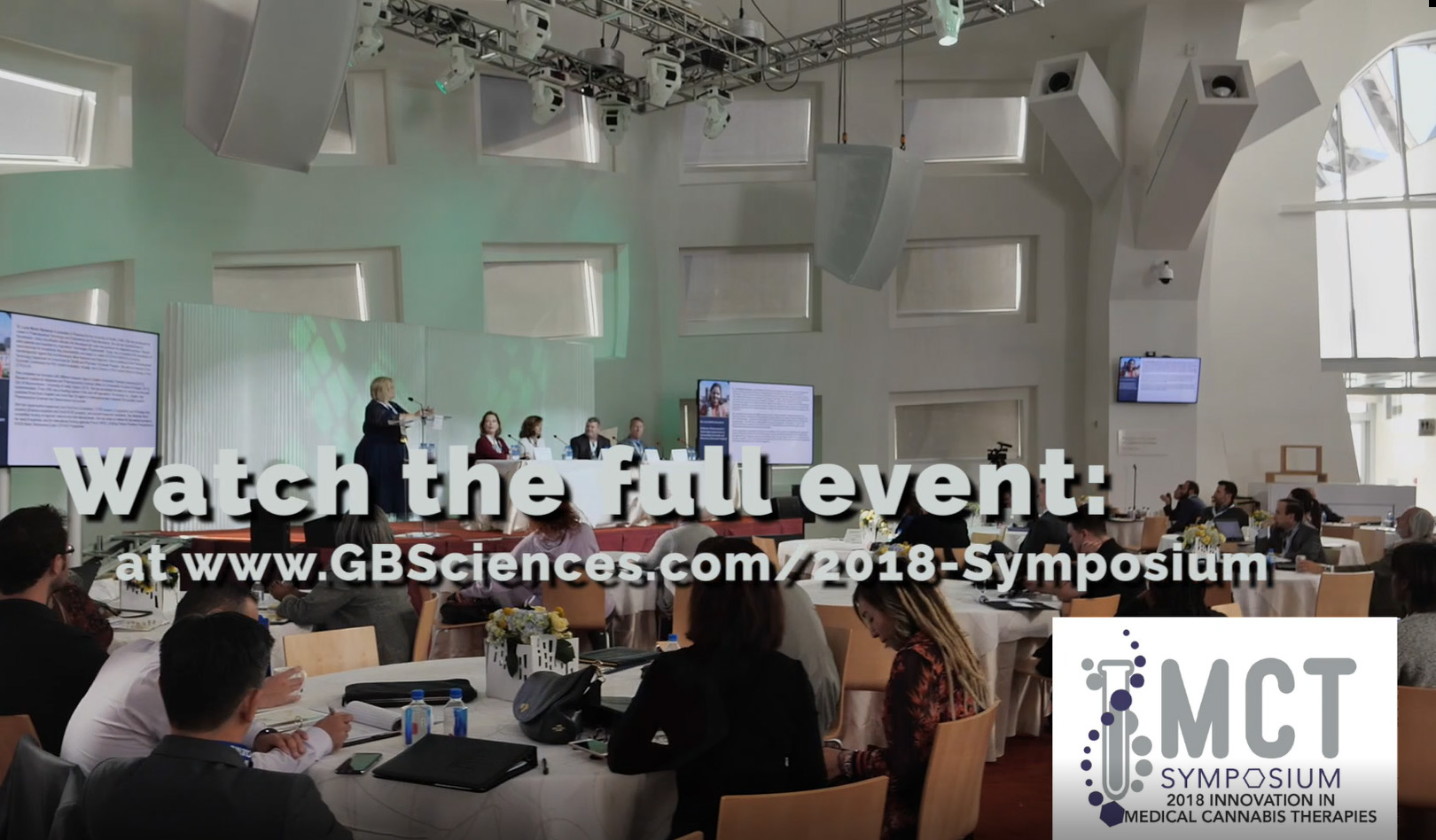 Clips from the 2018 Innovation in Medical Cannabis Therapies Symposium in Las Vegas on Oct. 9, 2018