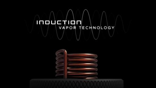 Front view image of the induction vapor coil used in the Dr Dabber SWITCH device