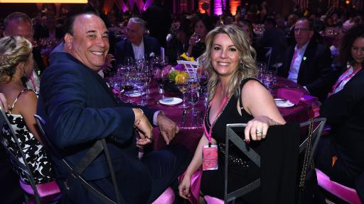 Jon and Nicole Taffer at Keep Memory Alive's 22nd annual Power of Love gala