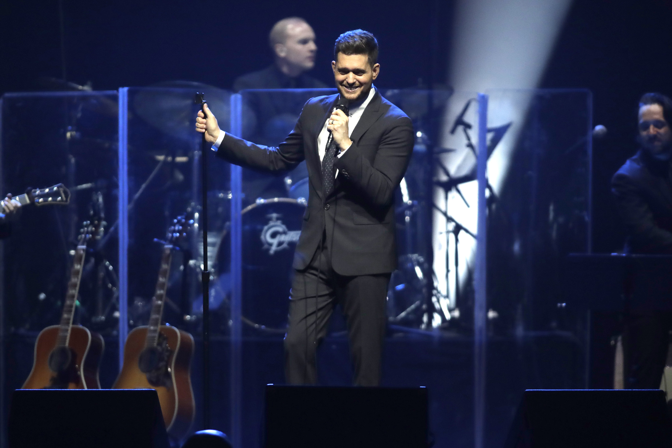 Michael Bublé Gives Performance At Keep Memory Alive's