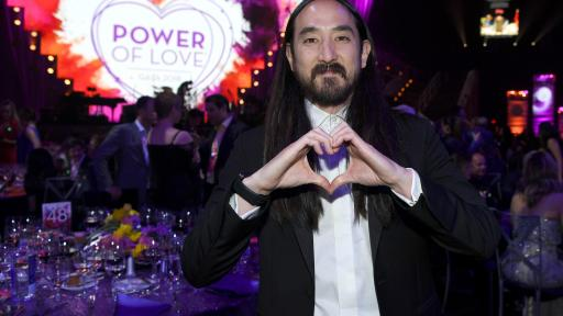 Steve Aoki at Keep Memory Alive's 22nd annual Power of Love gala