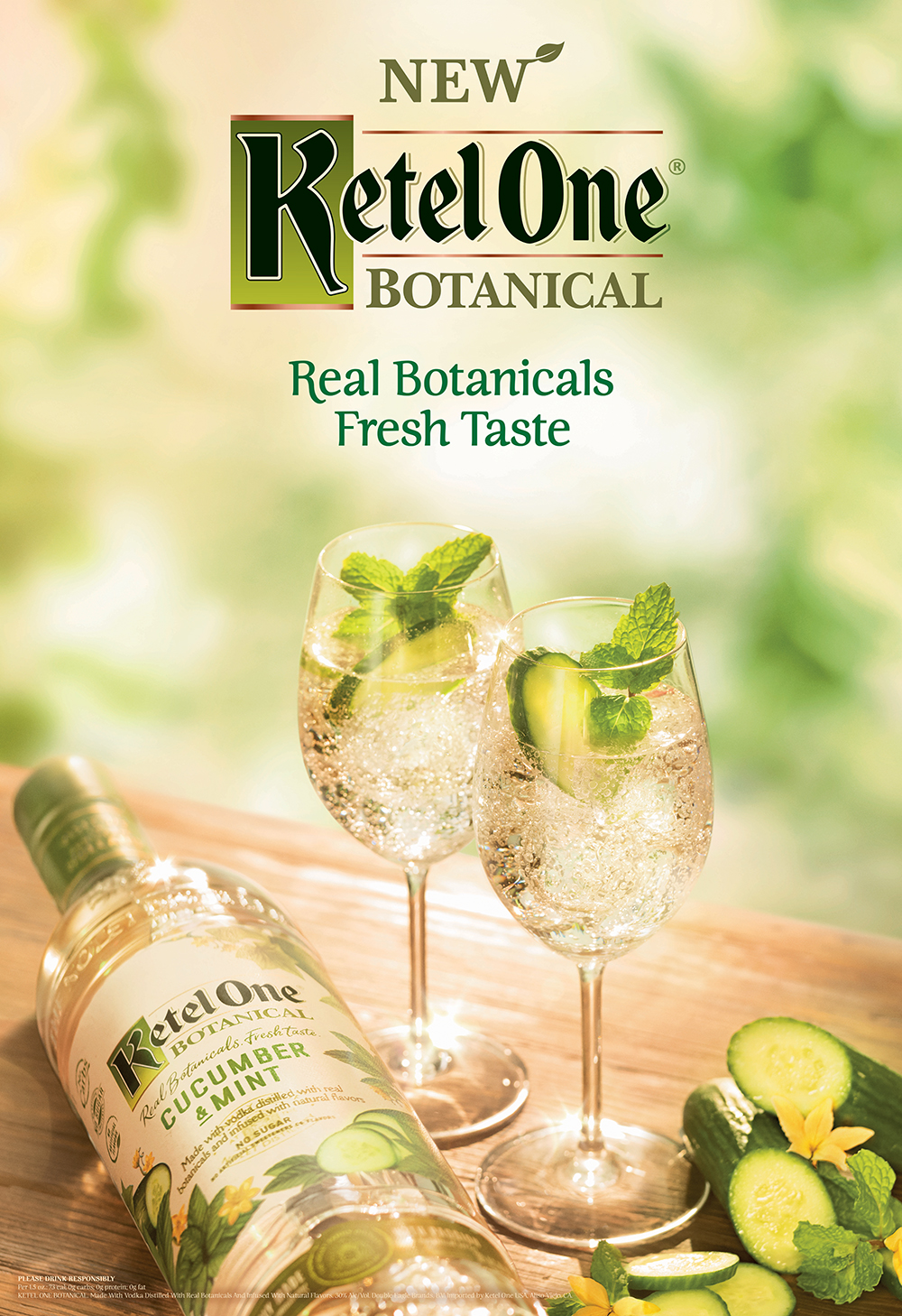 Ketel One Botanical Creative - Cucumber & Mint