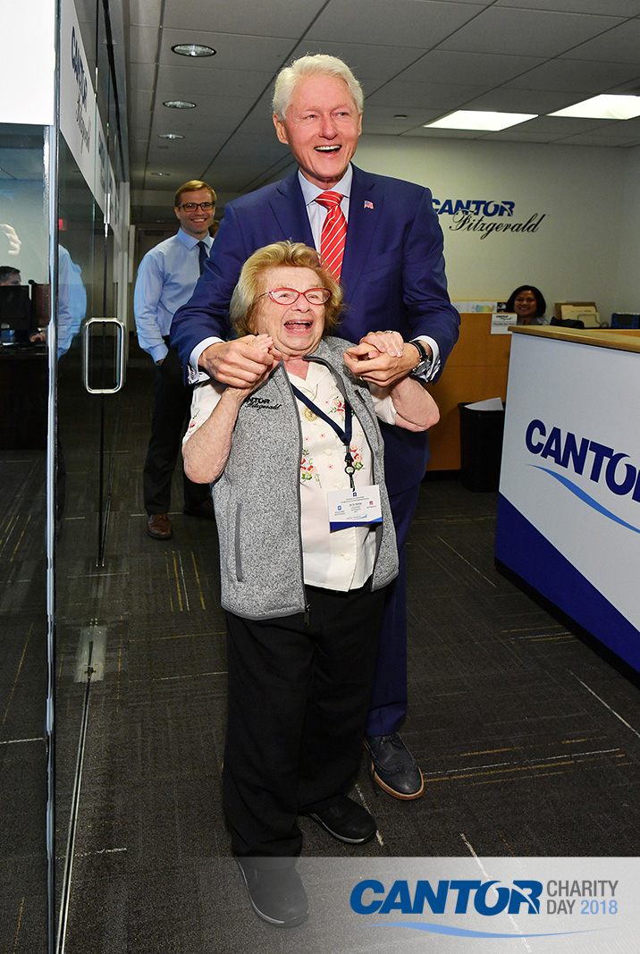 President Clinton and Dr. Ruth
