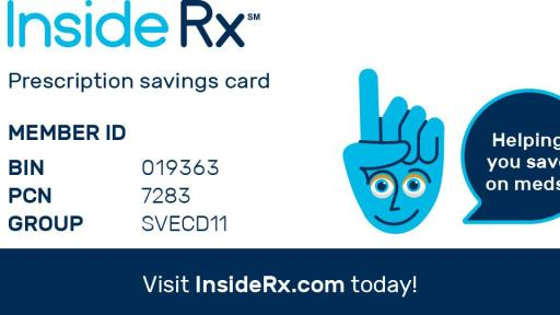 InsideRx Prescription Savings Card