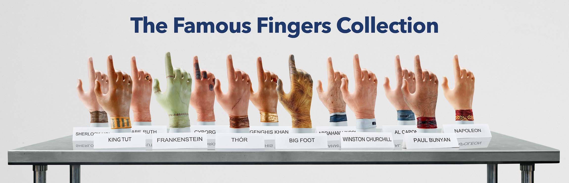 The Famous Fingers Collection