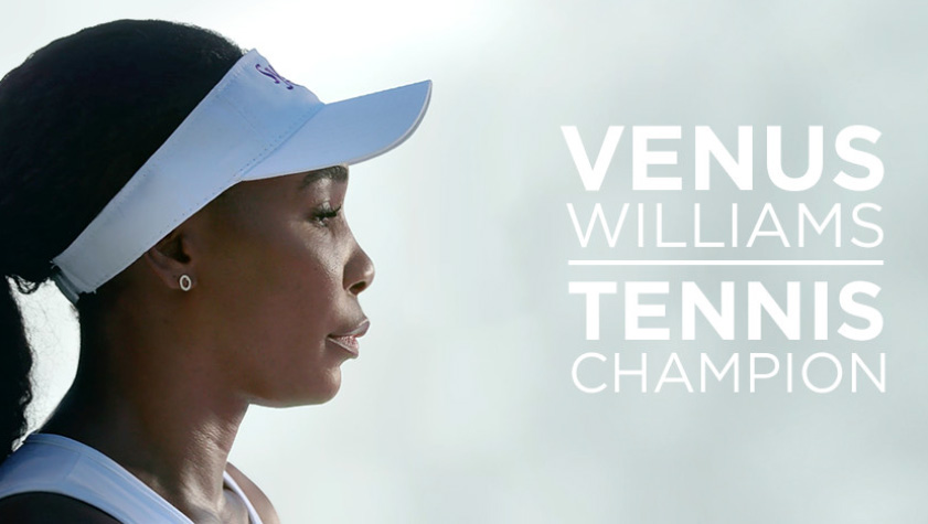 Venus Williams shares her story of real relief.