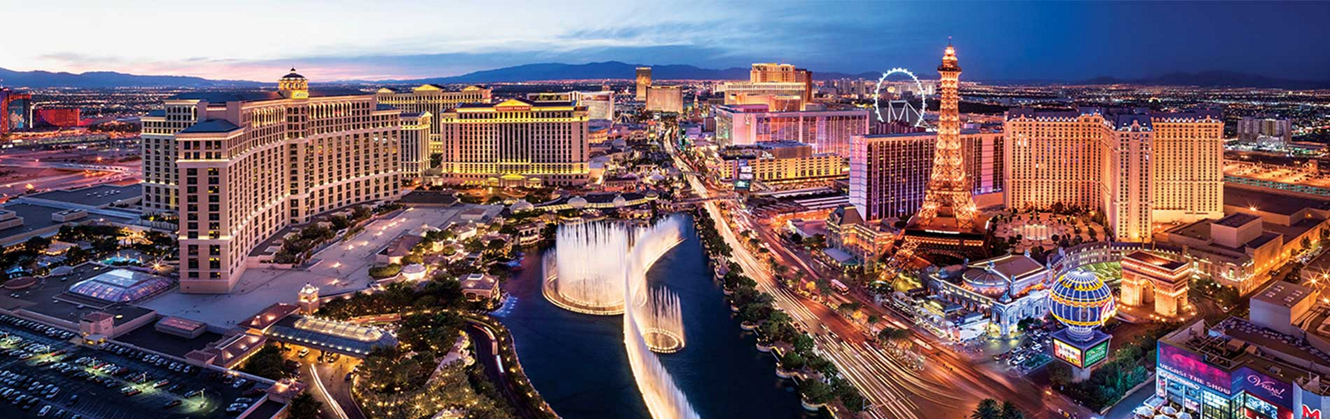 Banner image of the Las Vegas strip