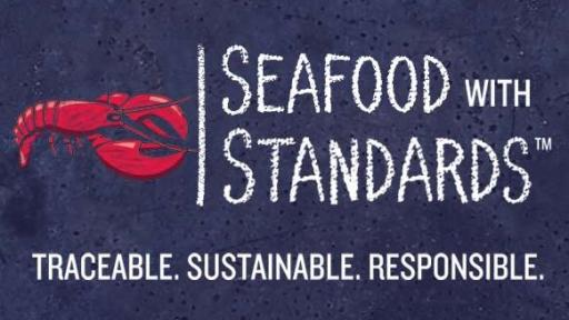 Seafood with Standards logo