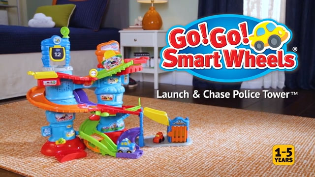 Go! Go! Smart Wheels® Launch & Chase Police Tower™