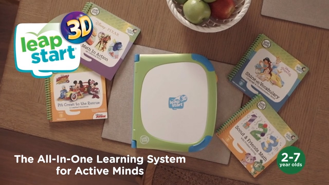 LeapFrog® Brings Learning to Life with LeapStart® 3D, New All-in-One Interactive Learning System