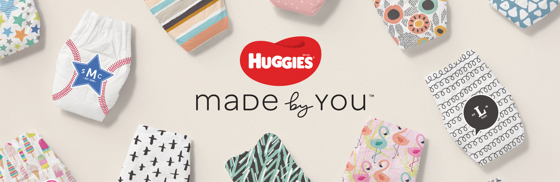 Huggies - Made by You