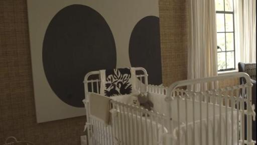 Behind-the-scenes of Huggies® Made by You™ nursery photo shoot at home with Nate Berkus, Jeremiah Brent and family