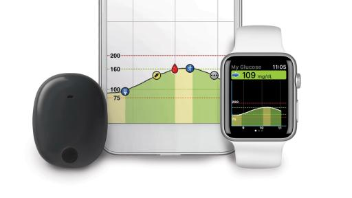 Watch and iPhone Eversense® CGM System
