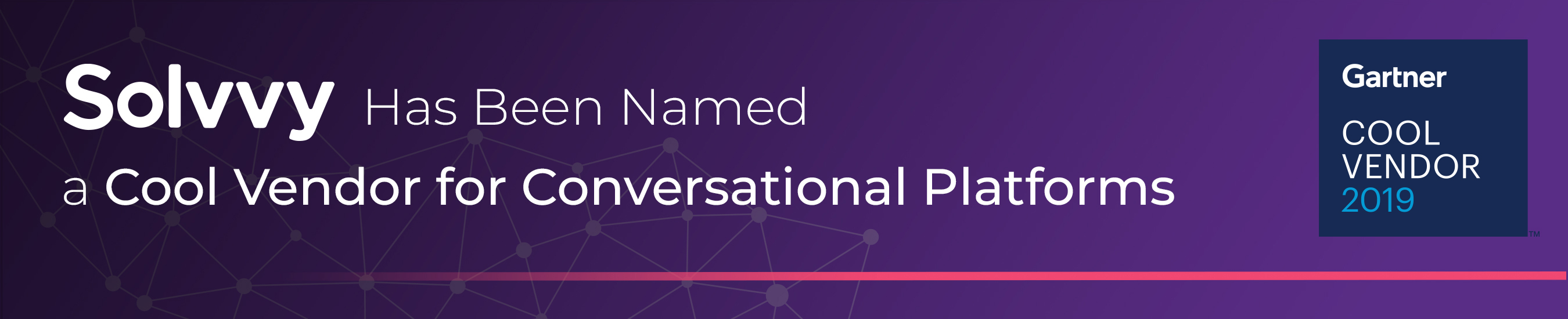 Solvvy Has Been Named a Cool Vendor for Conversational Platforms