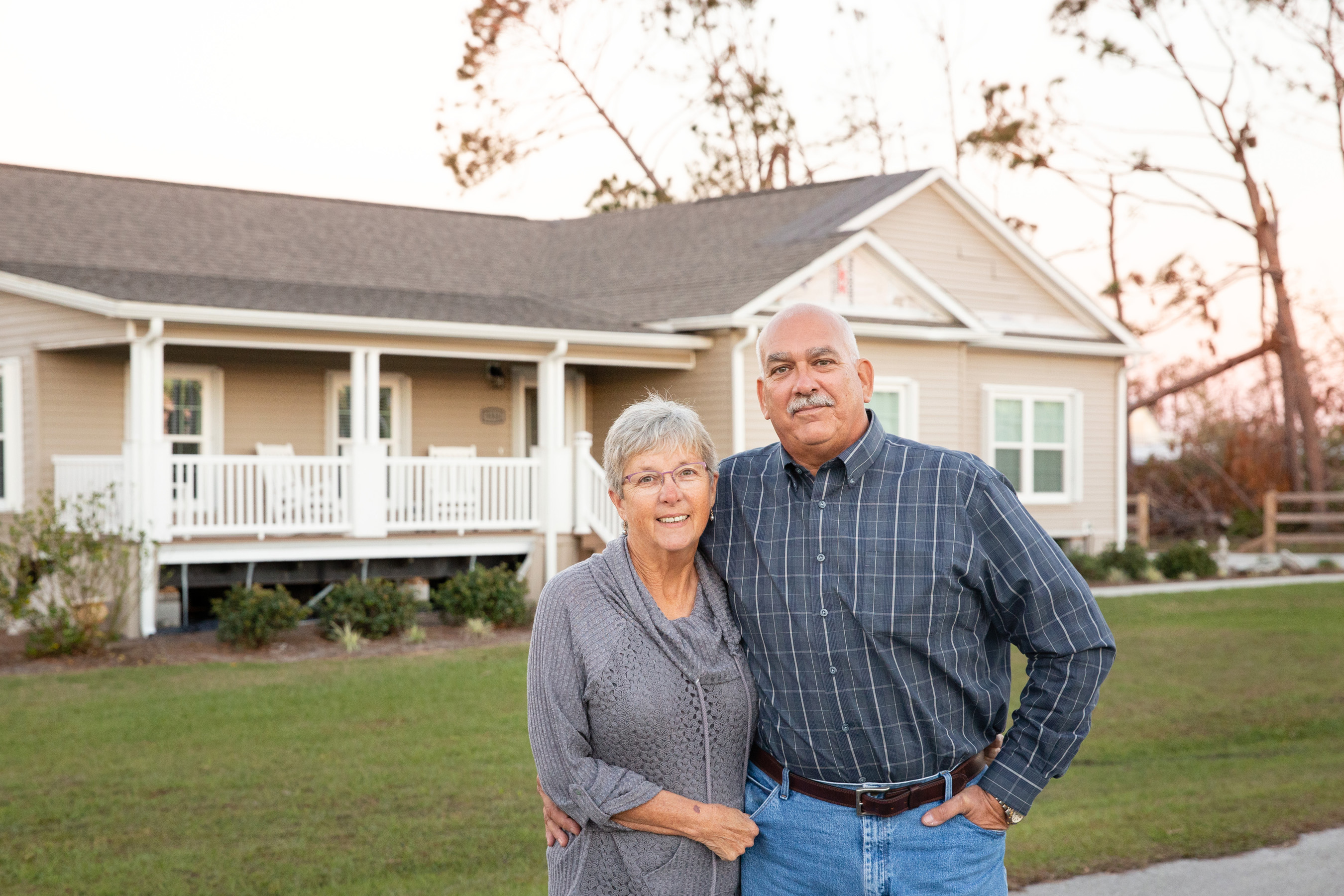 Terry and Darla chose to purchase a modular home after touring a home building facility and witnessing the quality of materials and offsite construction process.