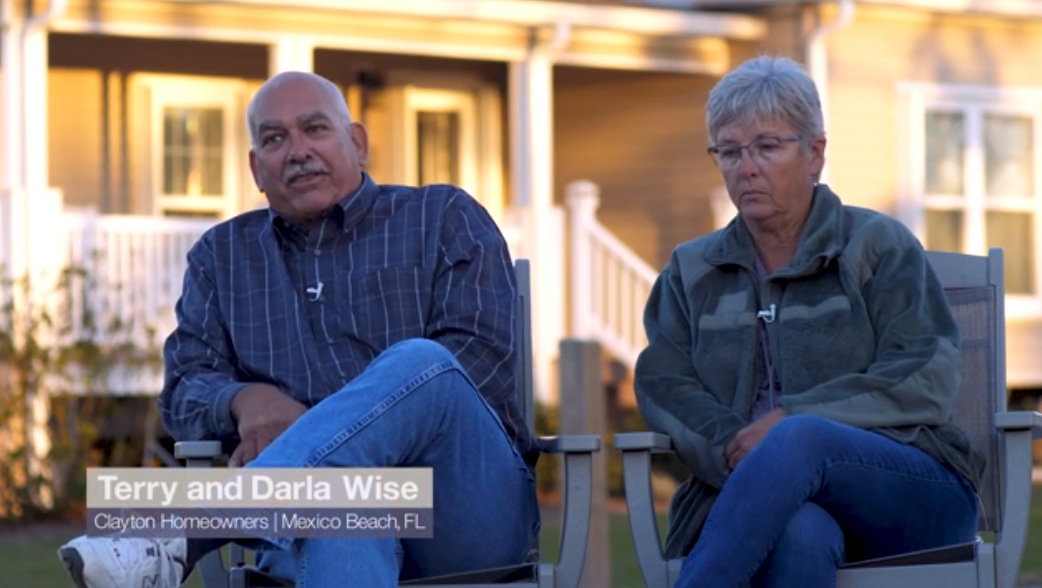 Clayton Built® homeowners share their post-Hurricane Michael story.