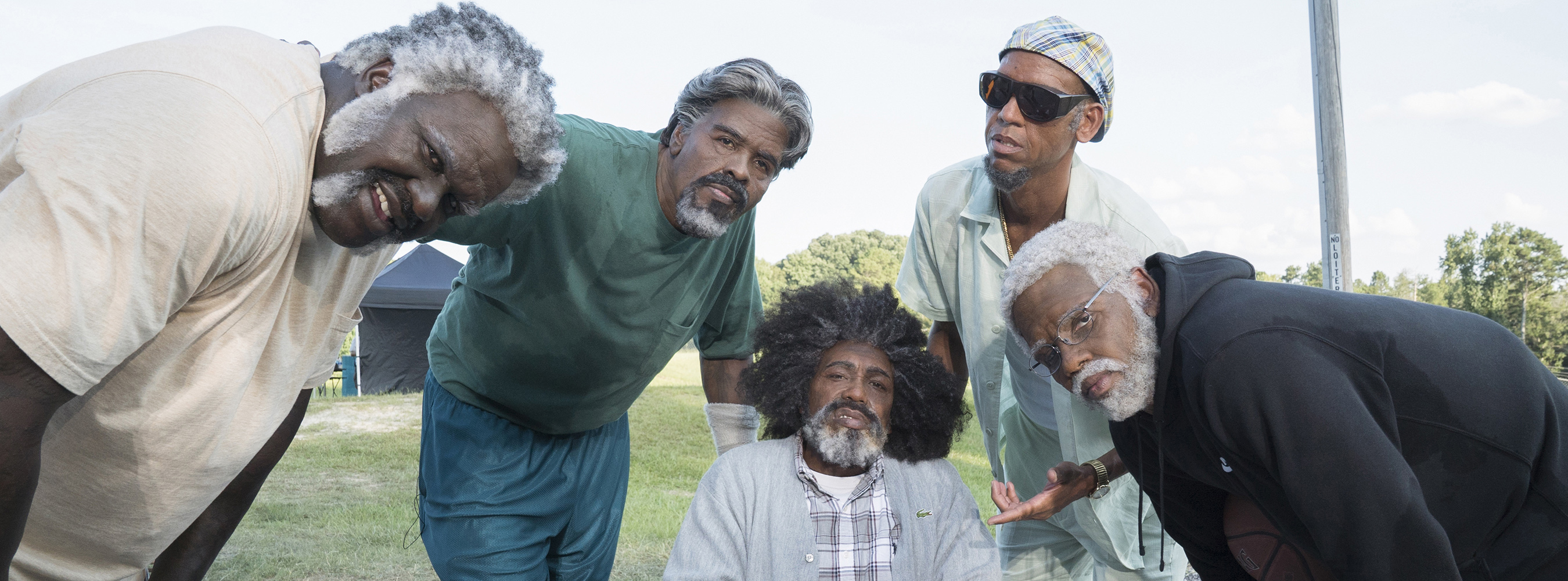 The stars of the upcoming film Uncle Drew