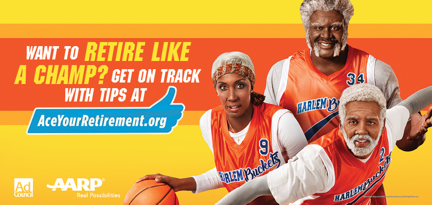 Outdoor PSA: Just like Uncle Drew makes all the right moves on the basketball court, you can make smart financial moves to retire like a champ. Visit AceYourRetirement.org.
