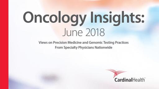 2018 Oncology Insights Report